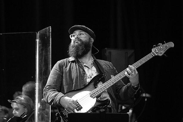 Ernie Ball Musicman Stingray at Sydney Opera House - Photo courtesy of David Vagg Photography